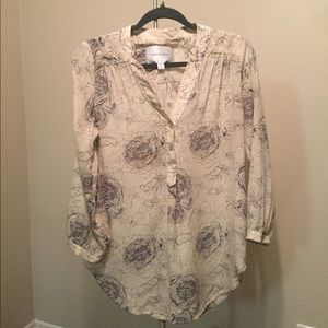 Amy Silk Blouse special edition print